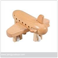 Customized wooden toyes children airplane