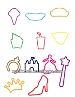 Cheap Colorful silly shaped bands