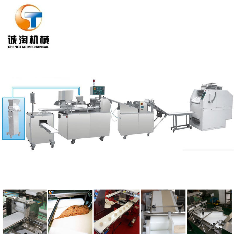 muti-function filling paratha machine Bun Production Line
