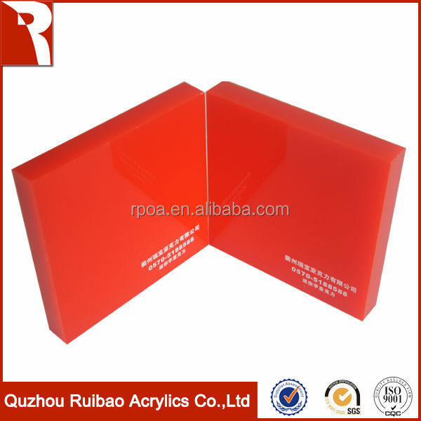 factory direct sale light diffuser sheet acrylic board made in China