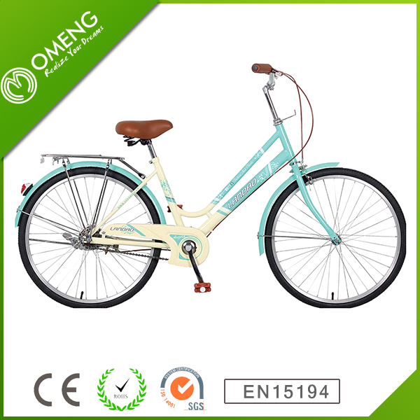 26 inch steel frame one speed city bicycle/road bike for ladies