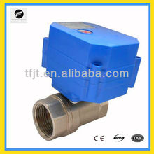 "2-way 1"" DN25 DC12V motorized motor valve for water treatment,solar heater system"