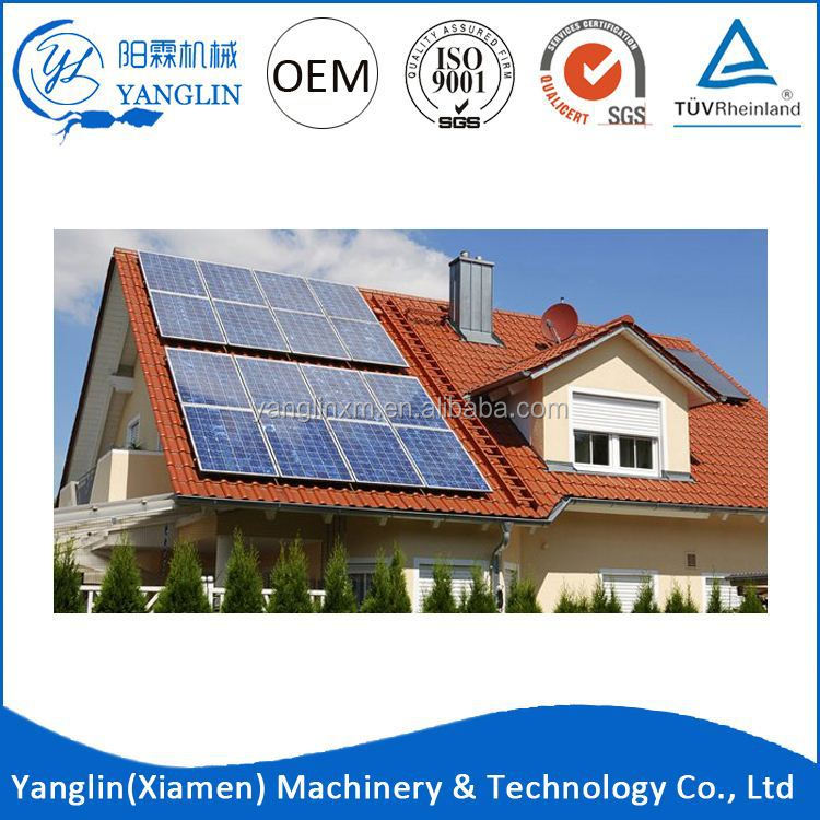3Kw Portable Home Use Solar Home Power Generation System