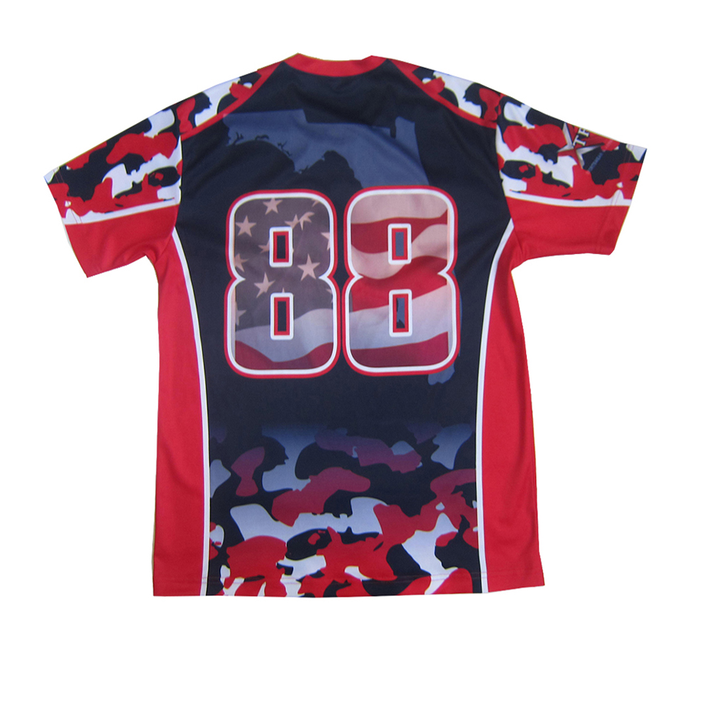 custom sublimation t shirt artistic design quality tees for sports