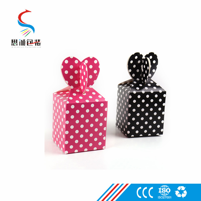 Cheap foldable 300 gsm paper box packaging for candy