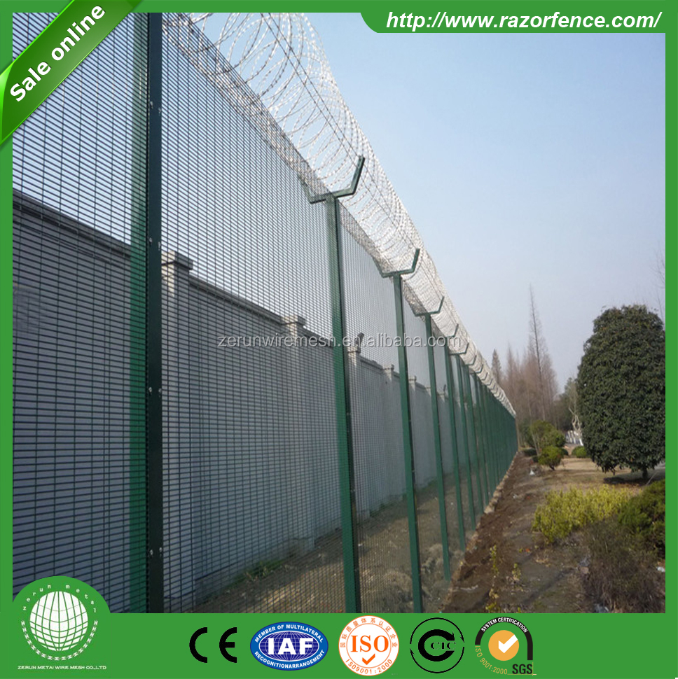 HDPE Plastic Mesh Garden Tennis Court Dog 358 Fence Netting