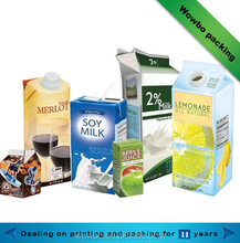 High quality various of beverage paper packaging