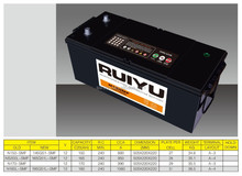 High Quality Sealed MF car battery made in korea 12V180AH car battery wholesale