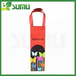 Great quality fashion design wine shaped paper gift bag