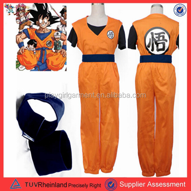PGMC0679 Unisex dragonball costume xxxxl fancy dress halloween cosplay costume