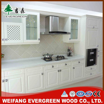 new modern fiber kitchen cabinet from china supply