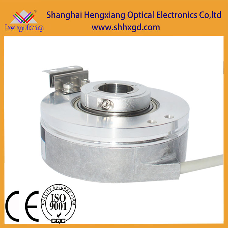 K76 Heavy-duty optical rotary encoder with hole 30mm resolution up to 32768ppr