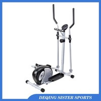 Exercise Bike Gym Fitness Master Cardio Workout Machine Adjustable Resistance