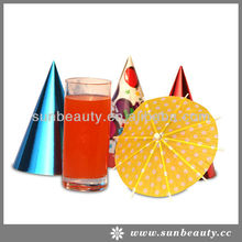 Party Used Wooden Umbrella Disposable Cocktail Picks