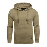 Men Long Sleeve Solid Color Hooded Sweatshirt Male Hoodie Casual Sportswear Hoodies