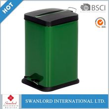 Hot-selling Trash Can / Waste Bin Metal Craft Trash Can Waste Bin Stainless Steel Bins Waste Containers