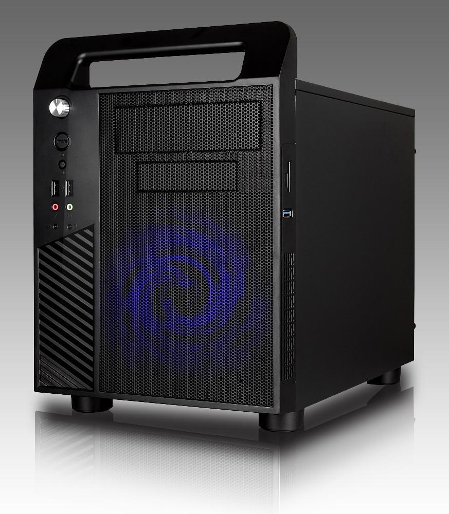 nuovo sottile 2015 cubo micro atx case del computer a