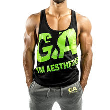 High quality best sales sport body building mens gym tank top
