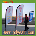Beach Flying Flags Display promotional feather flag