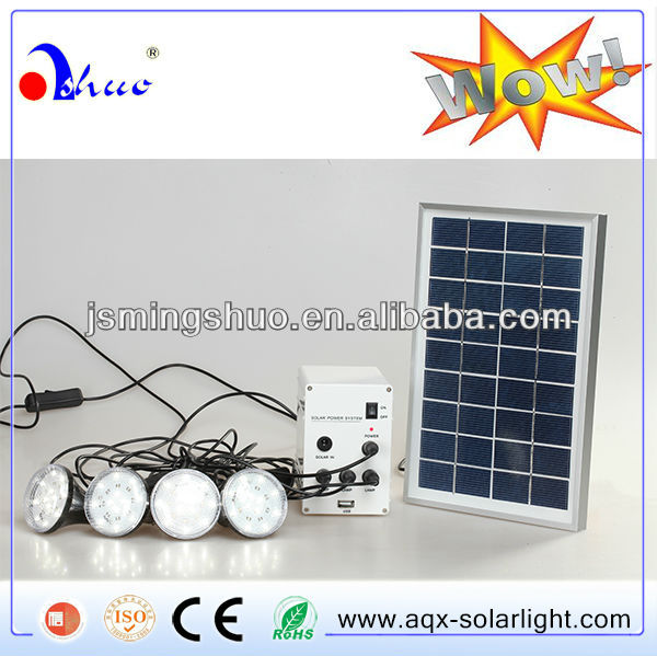 Complete solar panel kit portable or small in home kit