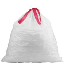 cornstarch made 100% eco friendly direct manufacturing factory compostable garbage bags on roll with drawstring