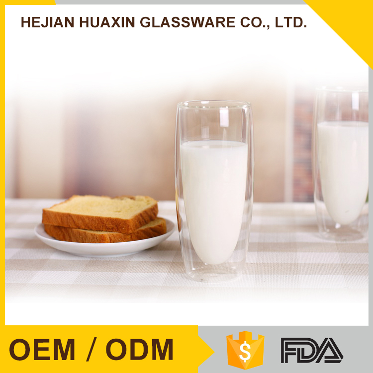 Superior Quality Eco Friendly Microwave Glass Heat Resistant Drinking Glasses