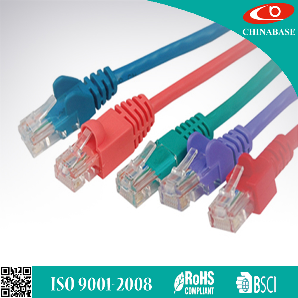 24awg twisted pair UTP FTP SFTP patch cord cat5e cat6 cat6 cat7 multi core network cable lan cable made in china
