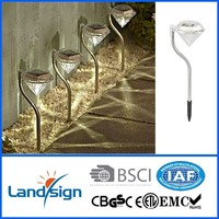 Cixi Landsign 2015 new solar pathway lights series halloween stake lamp for garden solar diamond light