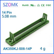 Phoenix Male Pluggable Type PCB Terminal block shell Electronics Din Rail Wire Connector Base from China