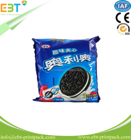 High Quality Customized Logo PE Materials Snack Using Plastic Packaging Bags