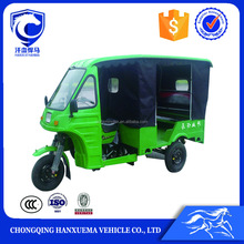 Closed Body Type 150cc motorized passenger tricycle For Sale