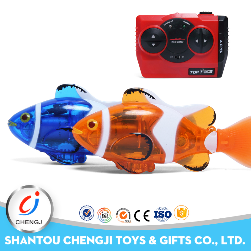 Manufacturer happy swimming remote control plastic nemo fish toy for sale