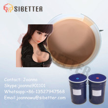 Two Parts Medical Grade Liquid Silicone Rubber for Sex Doll Making