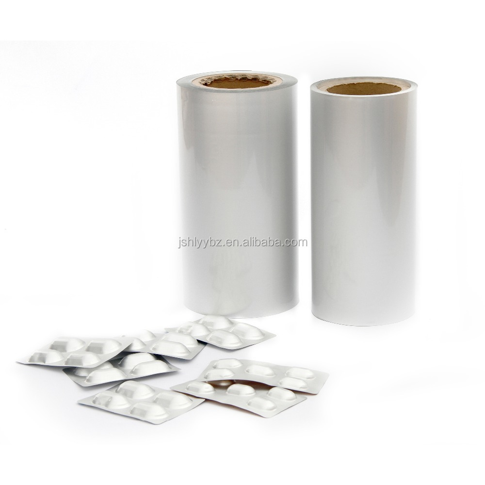 coated treatment and pharma use medical cold bottom foil