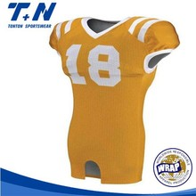 Gros New Sublimated Football américain Jersey