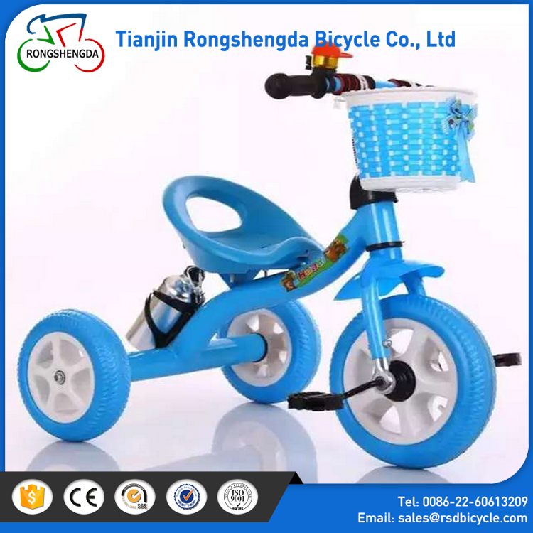 OEM service three-wheeler child's tricycle toy car / smart baby velocipede / cheap price pedicab for kids