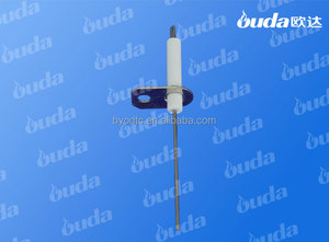 ceramic ignition electrode for gas wall hung boiler