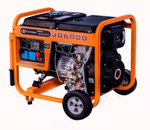 digital invert three phase portable diesel alternator generator set