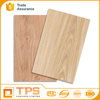 Wood Grain Decorative high pressure hpl wall panels lamination