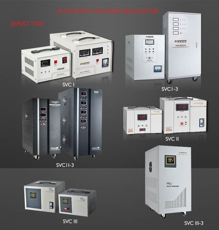 [YIY] SVC 3kw home voltage stabilizer/ 3000w voltage stabilizer