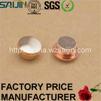 Manufacturer Silver Alloy Electrical Rivet for Buyer Trimetal Contacts