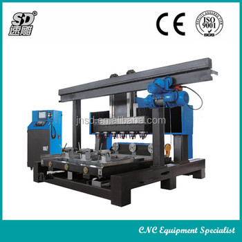 superior marble and granite 4 axis cnc processing machinery