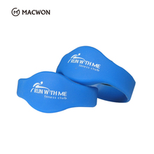 Proximity smart price programmable silicone RFID Wristband key fob price for swimming pool