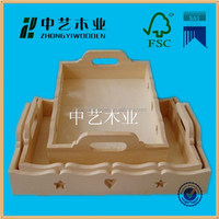 2015 year factory suppliers sale ISO9001&FSC&SA8000 heart shape wooden carved dry fruit vegetables tray
