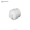 White color pvc sanitary pipes and fittings plastic tube cap plug