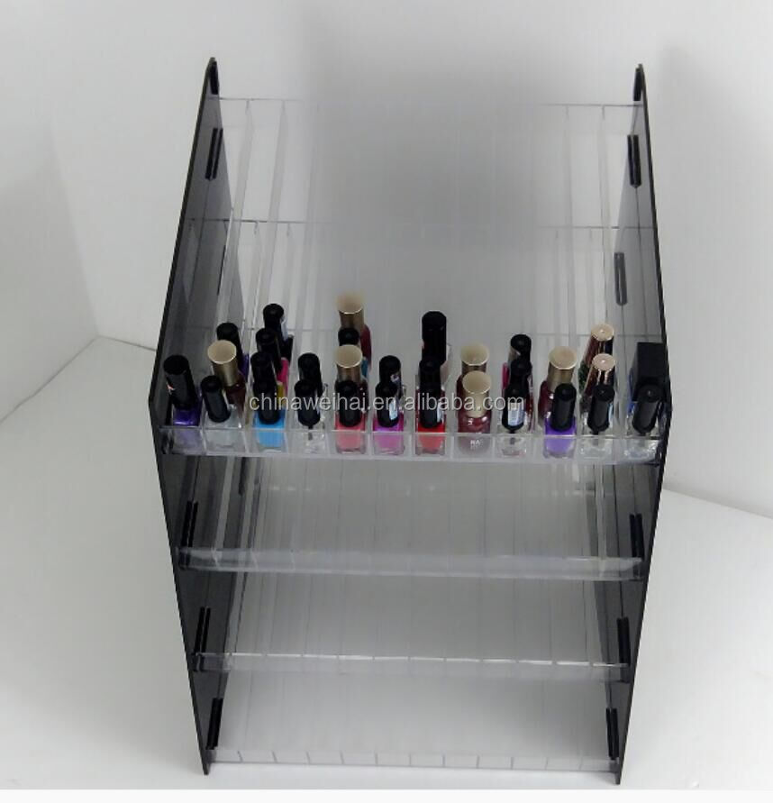 Led Light For Acrylic Nail Polish Shelf Rack Display