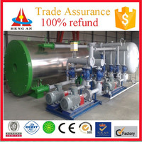 CE ISO BV certificate factory price trade assurance dual fuel (natural gas / ldo / furnace oil) thermal oil heater