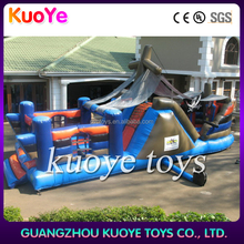 0.55mm pvc tarp pirate ship inflatable jumping bouncer for adults