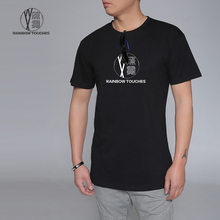 High quality custom round neck mens t shirt with special logo