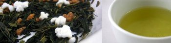 Hot selling Organic Genmaicha Green Tea